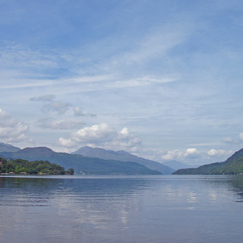 Loch Lomond panoramic